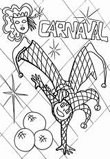 Carnival Coloring Pages Fair State Rides Clown Dance Bumper Cars Printable Playing Games Emotional Faces King Getcolorings Template Coloringtop sketch template