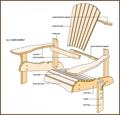 Woodworkers Journal Adirondack Chair Plans by 17 Best Ideas About Adirondack Chair Plans On