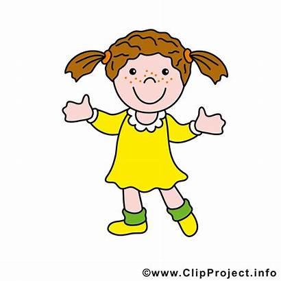 Maedchen Comic Kinderbilder Clipart Cliparts Cartoon Kostenlos