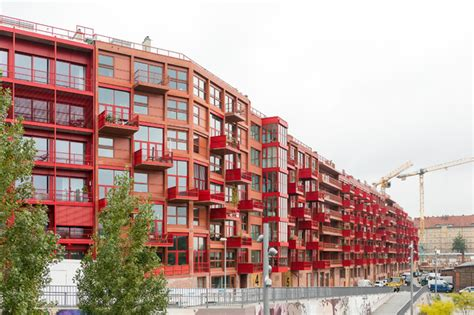 Fliesen Baumarkt Berlin by Houzzbesuch Modernes Penthouse Im Roten Beton Riegel