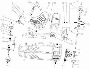 Razor Ground Force Parts List And Diagram   Ereplacementparts Com