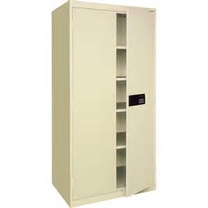 sandusky lee keyless electronic steel cabinet 46in w x