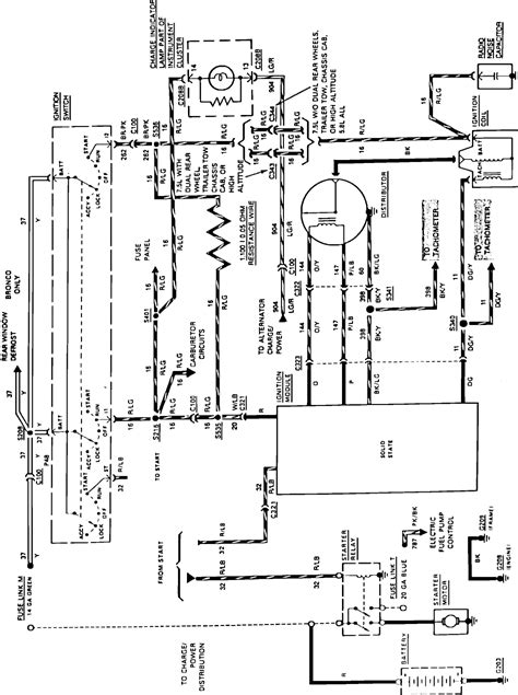 1989 Ford Truck Starter Wire Diagram by Color Wire Routing From Starter Relay To Ignition Switch