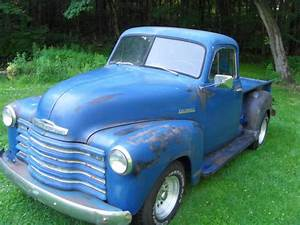 1951 Chevy 3100 5 2 Ton Truck Faux Patina For