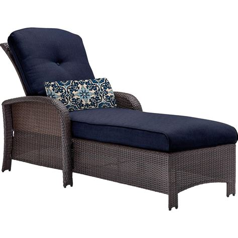 chaise b b confort outdoor chaise lounges patio chairs the home depot