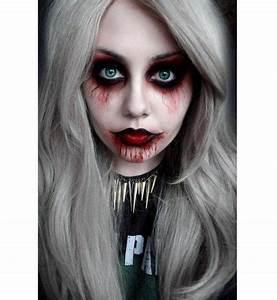 Déguisement Halloween Qui Fait Peur : maquillage halloween simple mais qui fait peur ~ Dallasstarsshop.com Idées de Décoration