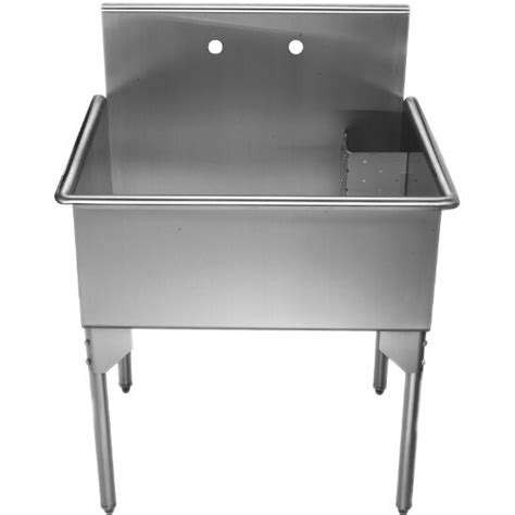 stainless steel utility sinks free standing whitehaus pearlhaus free standing utility sinks with drain