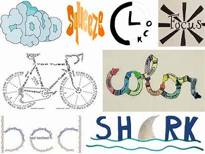 Words Illustrated Teaching Word Google Integration Drawing
