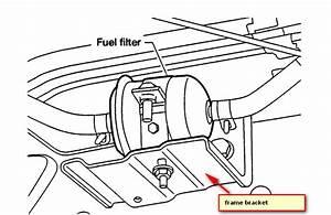 2007 Nissan Frontier Fuel Filter Location