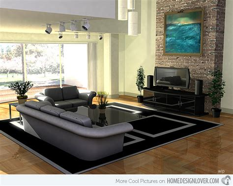 16 Contemporary Living Room Ideas  Living Room And Decorating