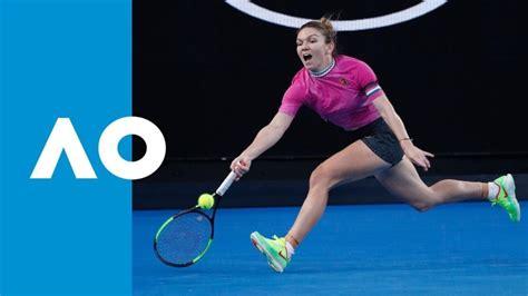 Australian Open 2019: Simona Halep beats Venus Williams to reach last 16 - BBC Sport