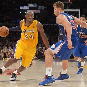 Blake Griffin and Kobe Bryant Treat LA Fans to Dunk Show ...
