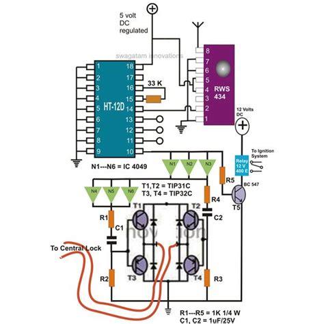 build  car immobilizer  vhf wireless remote