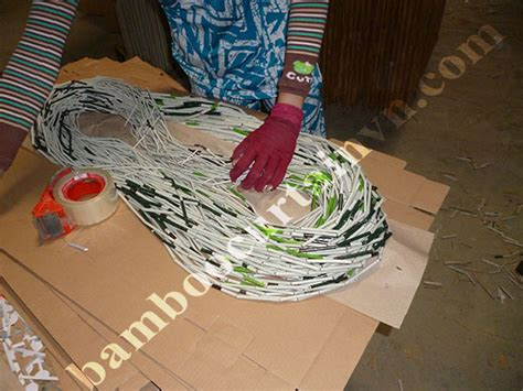 Making Bamboo Bead Curtain Is Traditional Handicraft In Cu Chi Definition Of Cafe Curtains Target Farrah Medallion Big Lots Curtain Holdbacks How To Shorten Without Cutting Or Sewing Led Light What Are Walls On A Castle Orange Middle Eastern Design