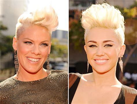Miley And P!nk Are Twins