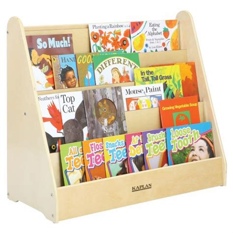 preschool bookshelf carolina large 5 shelf book display 833