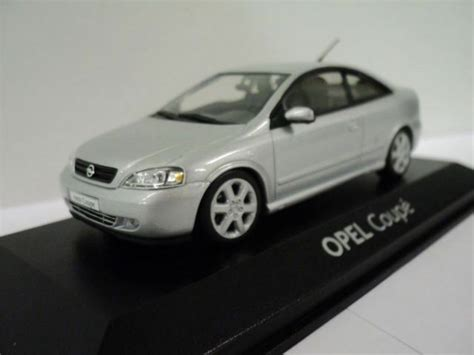 Opel Car Models by Vauxhall Opel Astra G Coupe Silver 143 Diecast Model Car