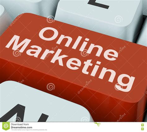 E Marketing Websites by Marketing Key Shows Web Emarketing And Sales Stock
