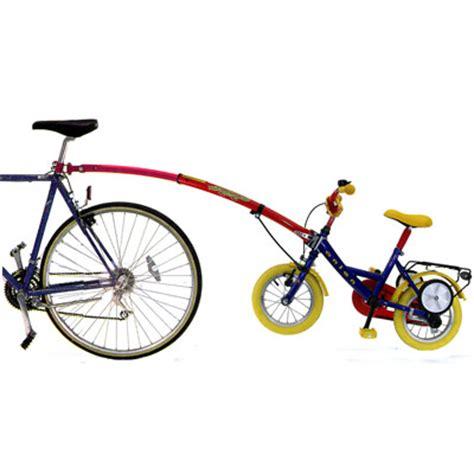 housses de sieges voiture trail gator tandem avec barre de remorquage de vélo enfant