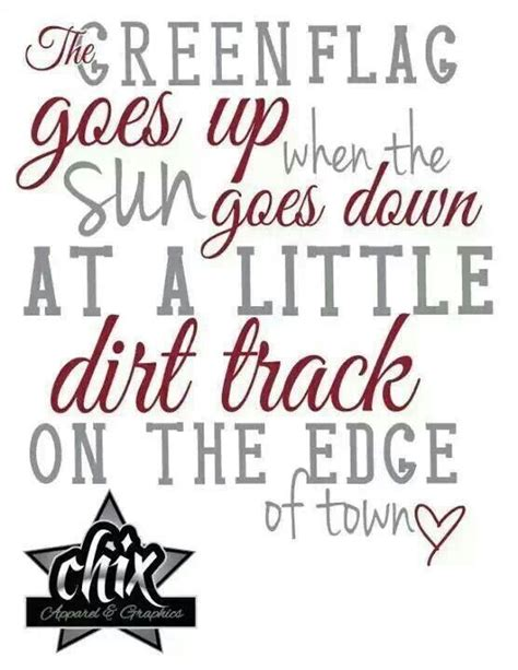 Racing Quotes Dirt Track Racing Quotes And Sayings Quotesgram