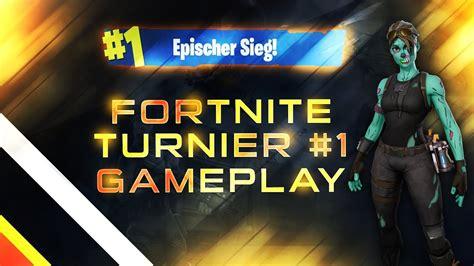 FORTNITE TURNIER SOLO - #HIGHSKILL TURNIER WIN #1 GAMEPLAY ...