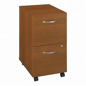 shop bush business furniture warm oak 2 drawer file With kitchen cabinets lowes with business card stickers
