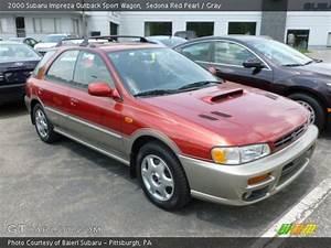 Sport 2000 Gray : sedona red pearl 2000 subaru impreza outback sport wagon gray interior ~ Gottalentnigeria.com Avis de Voitures
