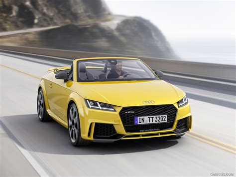 Audi Roadster Color Vegas Yellow Front