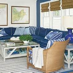 Blue Sofa White Piping by 1000 Images About Navy Blue Indigo And White Home Decor
