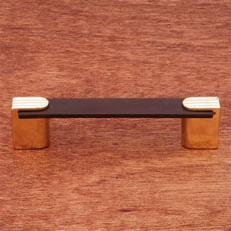 two tone cabinet hardware rk international cp 45 brb solid brass cabinet pull