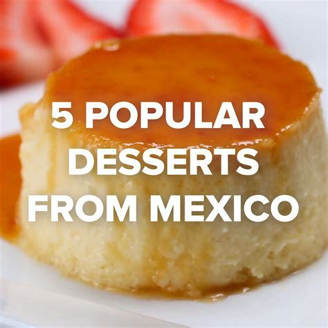 popular mexican desserts recipes