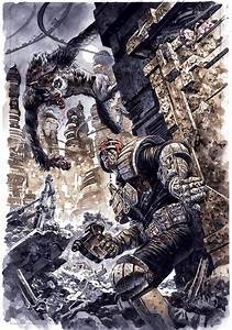 Judge Dredd Gets Cursed with Lycanthropy in March - Dread ...