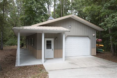 Metal Storage Sheds Jacksonville Fl by Morton Buildings Garage With Attached Office In
