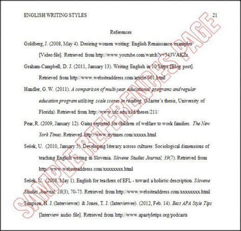 Resume Reference Page Guidelines by Image Result For Reference Page Apa Schooling