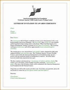 formal invitation letter for corporate event invitation With formal invitation template for an event