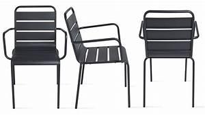 Chaise De Jardin Metal : chaise de jardin empilable chaise m tal ~ Dailycaller-alerts.com Idées de Décoration