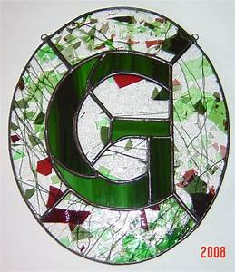 71 best stained glass letters images on pinterest With glass letters
