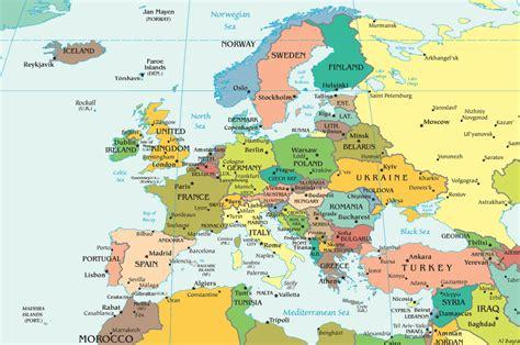 Carte De L Europe 2017 by Infos Sur Carte De L Europe 2015 Arts Et Voyages