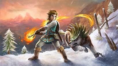 Zelda Legend Breath Wild Wallpapers Resolution 4k