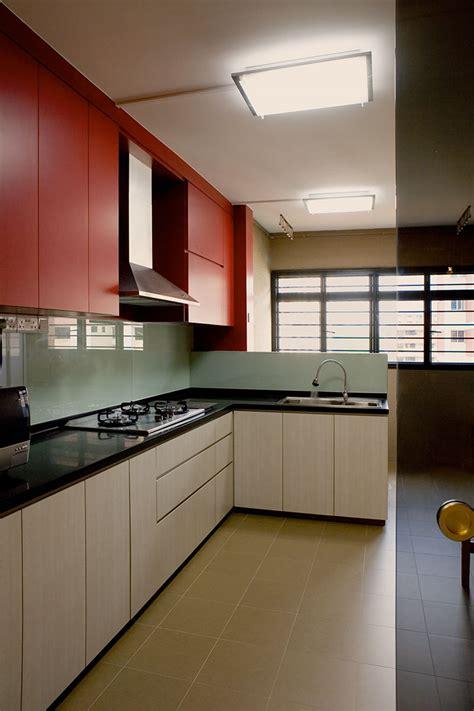 hdb flat kitchen design plus interior design 4166