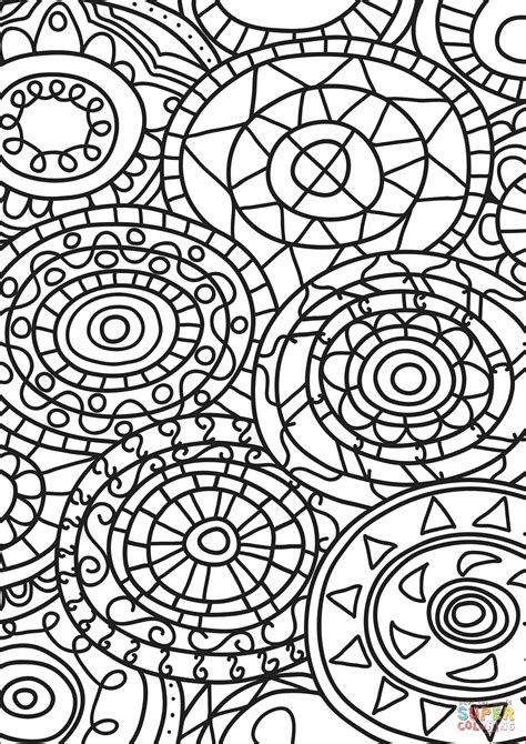 free abstract coloring pages abstract doodle coloring page free printable coloring pages