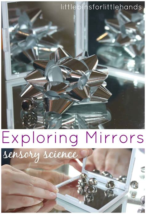 simple mirror activity exploring reflections