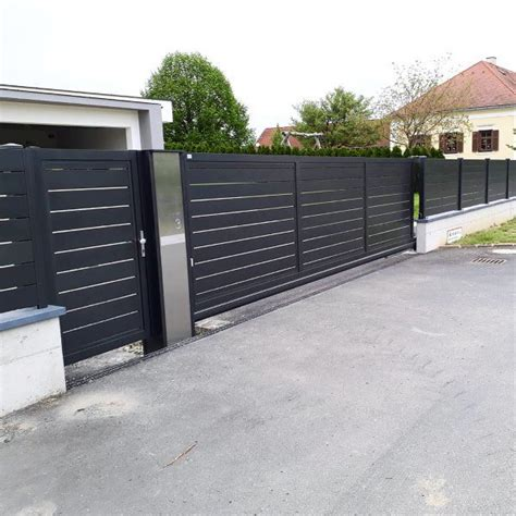 Modernes Haus Zaun by Top 60 Best Modern Fence Ideas Contemporary Outdoor Designs