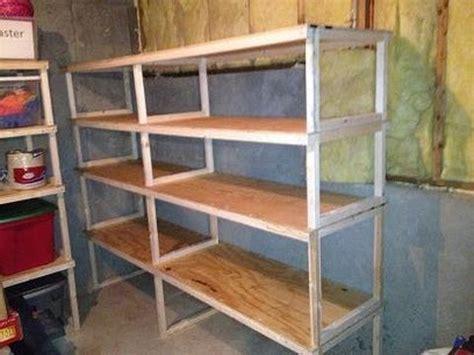 building garage shelves 20 diy garage shelving ideas guide patterns