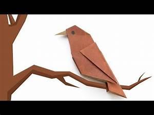 Origami Für Anfänger : origami bird simple origami for beginners youtube ~ A.2002-acura-tl-radio.info Haus und Dekorationen