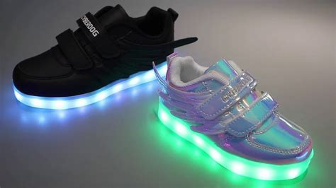 Cyberdog Kids Light Up Rgb Shoes