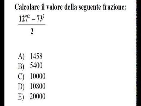 Test Di Ammissione Medicina 2014 by Test Di Ammssione Di Medicina 2014 Quesiti Di Matematica