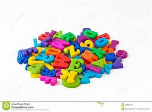 Magnetic alphabet letters stock image image of background for White magnetic letters and numbers