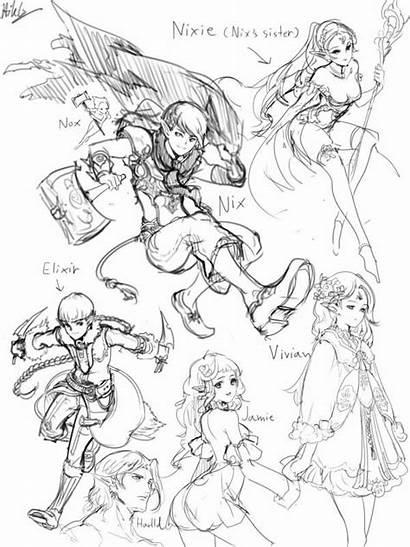 Poses Drawing Manga Dynamic Pose Anime Reference
