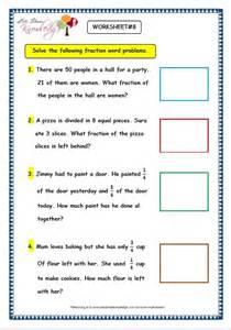 Fraction Word Problem Worksheets Grade 3 Maths Worksheets 7 9 Fraction Word Problems Lets Knowledge
